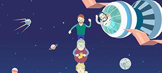Loto Zabava. Space.