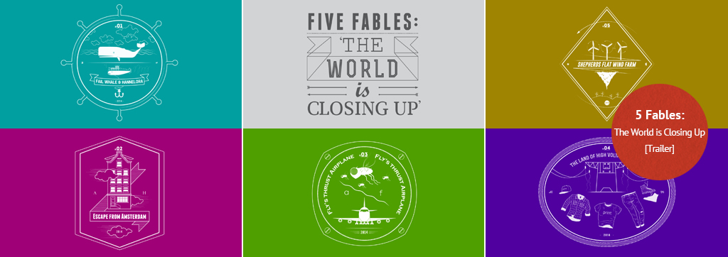 5 Fables. The world id closing up. TRL