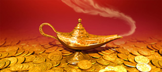 UkrSibBank. The Magic Lamp